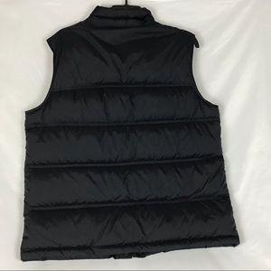 Lands' End Jackets & Coats - Lands End black vest L 42-44